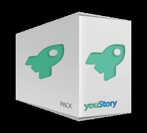 Pack de publication Bestseller youStory