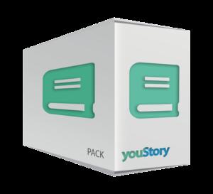 Pack de publication Livre youStory