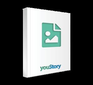 Prestation de création de couverture de livre youStory