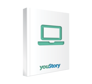 Prestation de création de site web d'auteur youStory