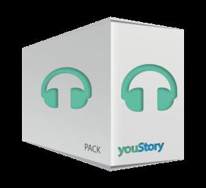 Pack de publication livre audio