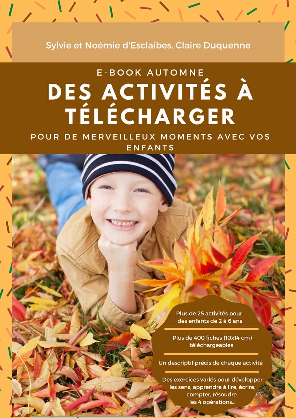Couverture ebook Montessori automne 2020