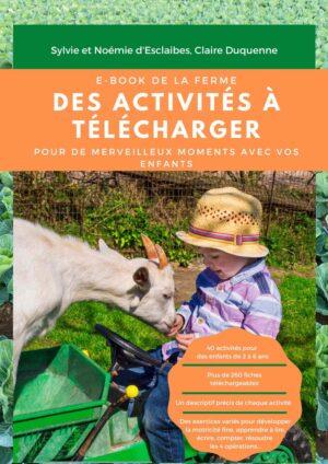 Couverture ebook Montessori thème de la ferme