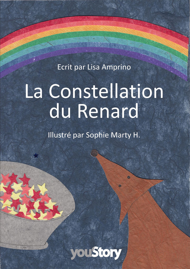 Couverture livre jeunesse La constellation du renard