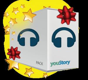 Pack de publication livre audio cadeau