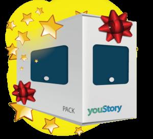 Pack de publication livre numérique cadeau